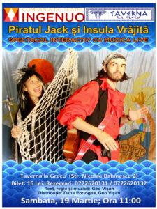 afis Jack si piratii